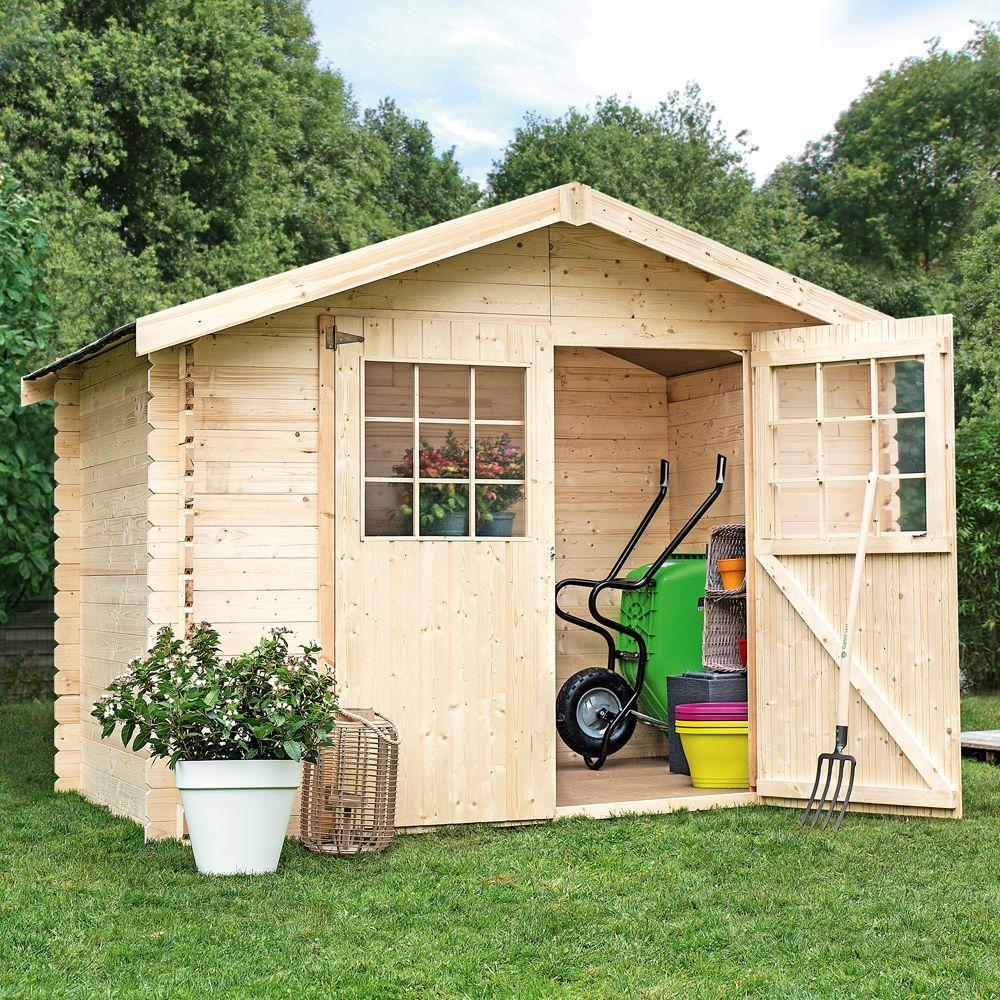 Aménager Un Petit Jardin De 20M2 quelle dimension pour mon abri de jardin ? | gamm vert