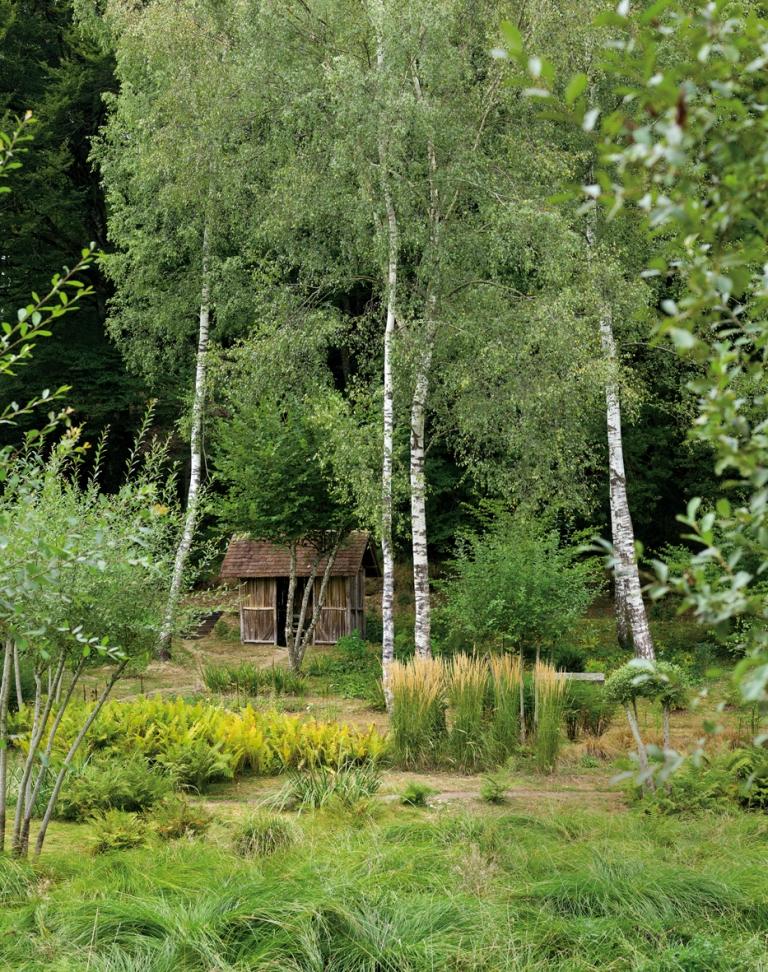 Le jardin de val maubrune promenades for Jardin val de saone