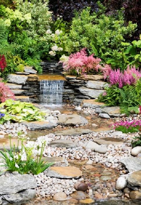 Installer un jet d eau de bassin gamm vert - Acheter bassin de jardin ...
