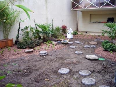 Un jardin urbain luxuriant jardins de paysagistes for Jardin urbain paysagiste