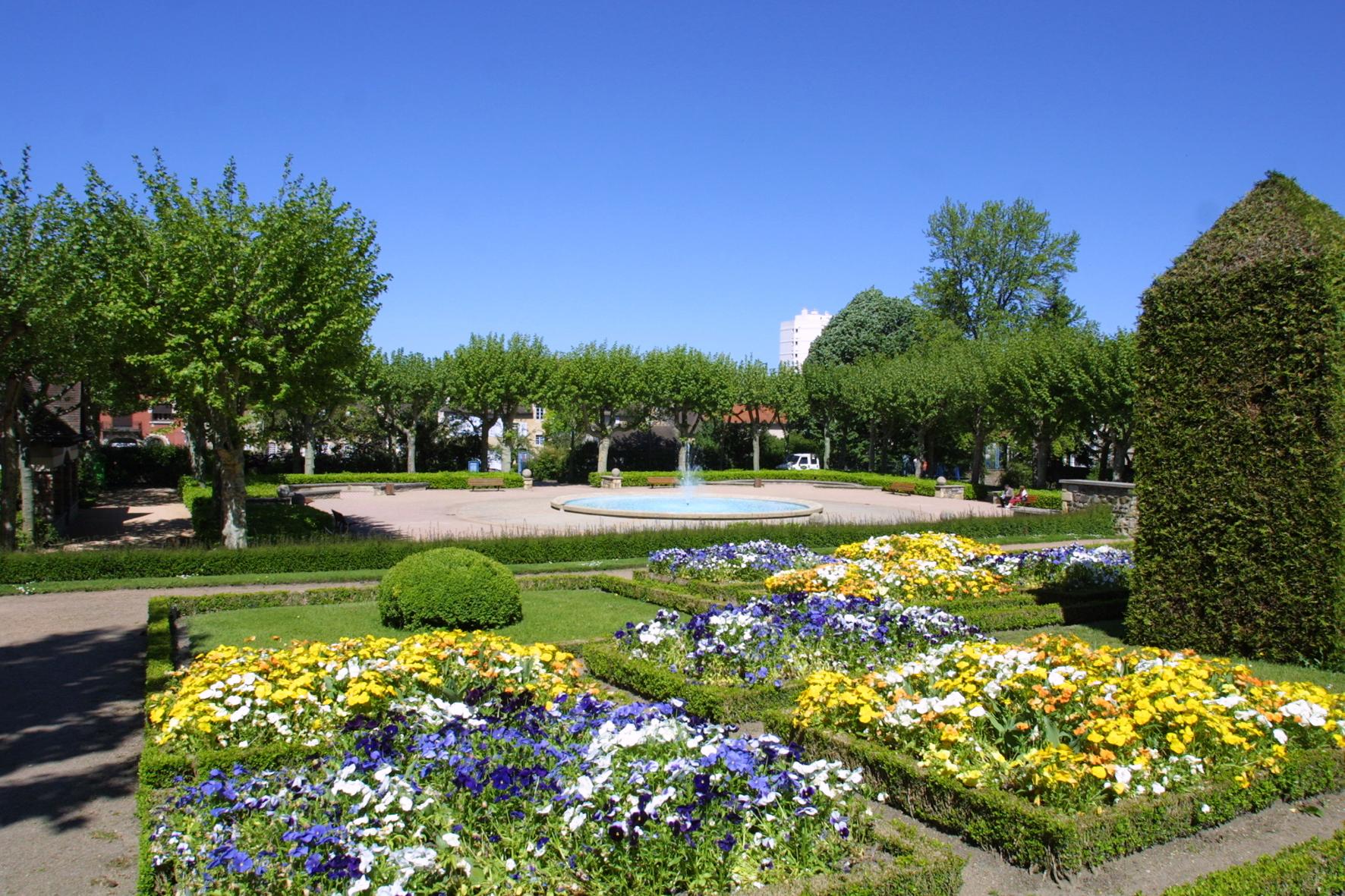 Plantes et jardins for Jardin wilson montlucon