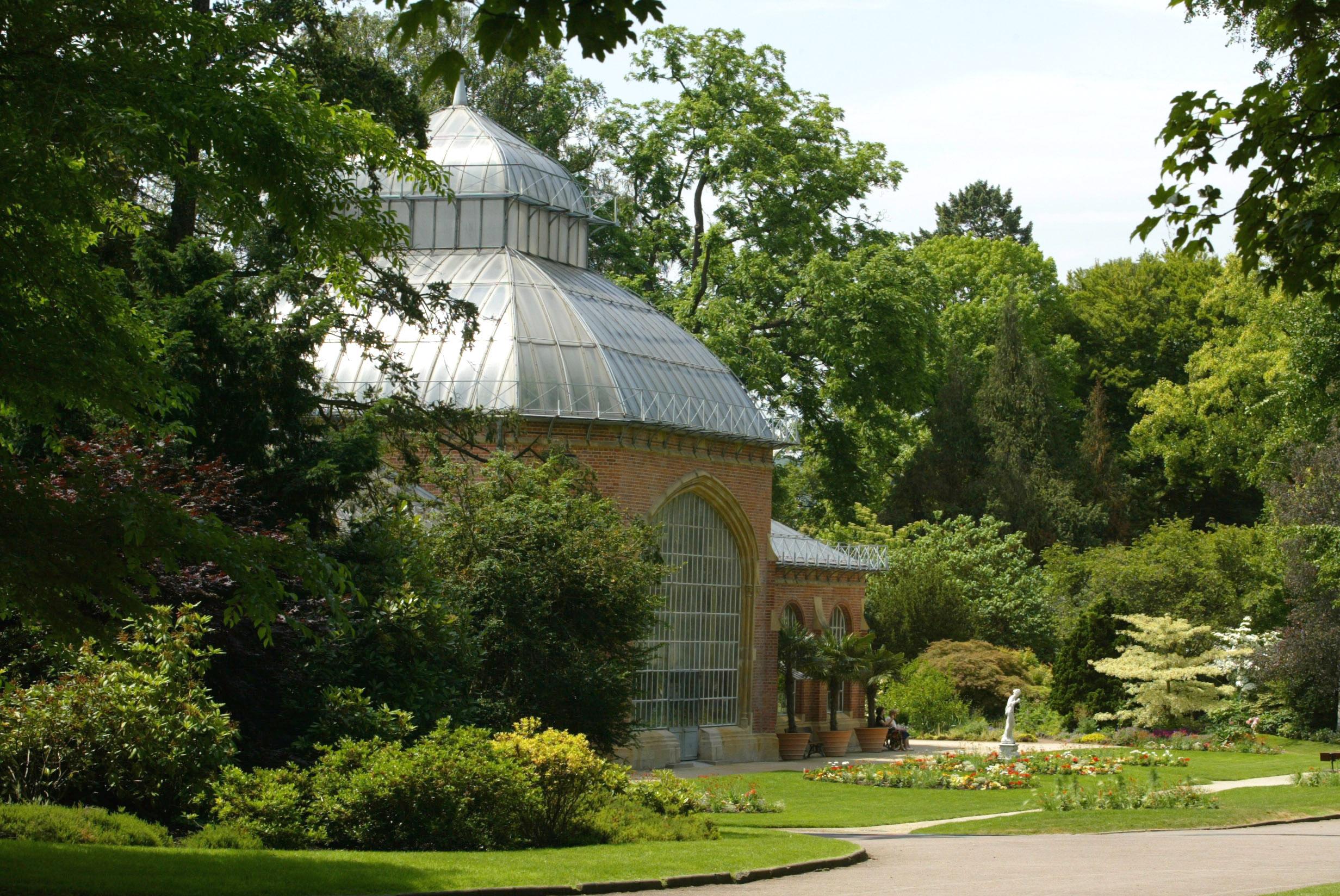 Le jardin botanique de metz promenades for Jardin fabert metz
