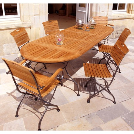 Beautiful Table Jardin Bois Fer Ideas - Awesome Interior Home ...