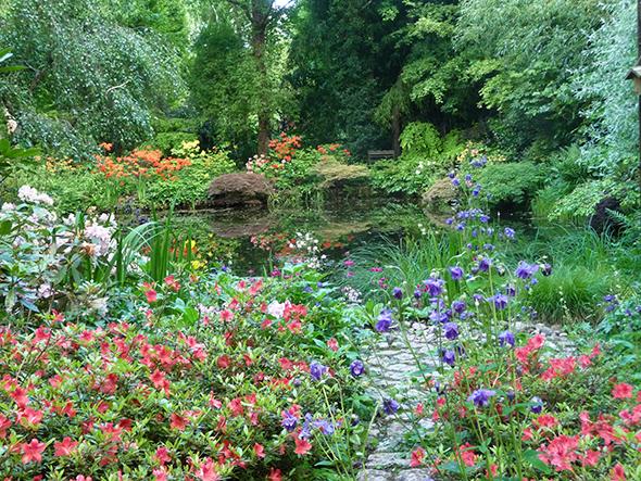 Le Jardin D Atmosphere Du Petit Bordeaux Gamm Vert