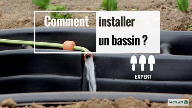 Installer et construire un bassin | Gamm vert