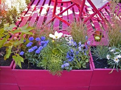 La terrasse de 4 sous dossiers for Plante jardin pas cher