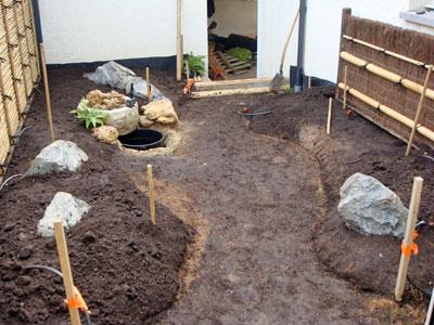 Un jardin japonais dans la r gion lyonnaise jardins de for Plan de petit jardin japonais
