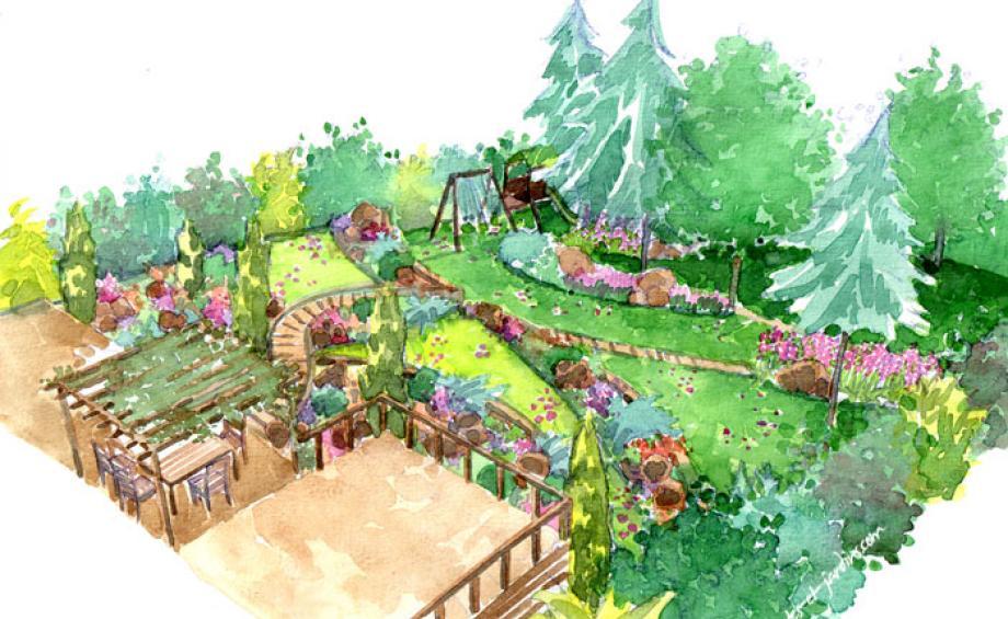 Inspirations jardins le magazine gamm vert - Amenager son jardin en ligne ...