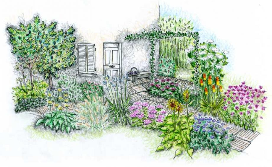 Inspirations jardins le magazine gamm vert for Association plantes jardin