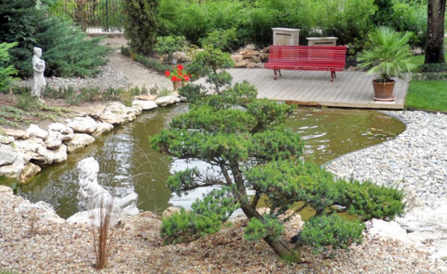 La galerie photos le magazine gamm vert for Paysagiste jardin japonais