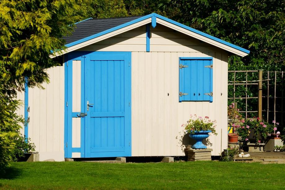 Comment peindre son abri de jardin gamm vert - Abri jardin gamm vert nice ...