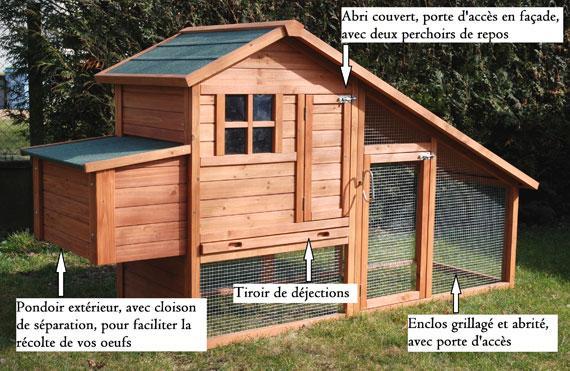 Choisir L Habitat Des Poules Poulailler Et Parcours Gamm Vert