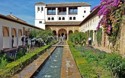 Generalife - Alhambra - Patio du Canal