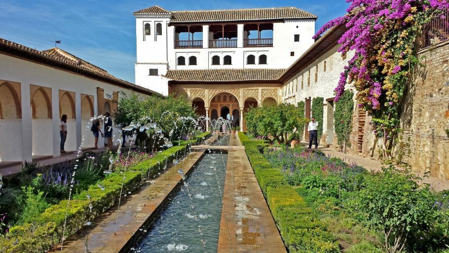 Jardin hispano mauresque gamm vert for Jardin hispano mauresque