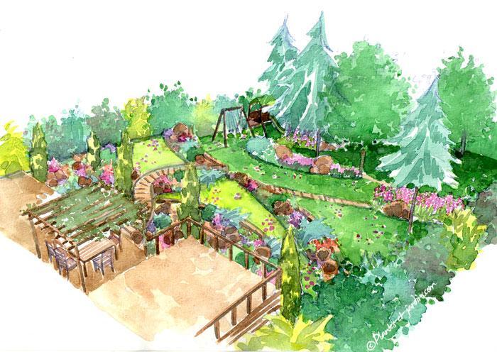 Le jardin en pente | Gamm vert