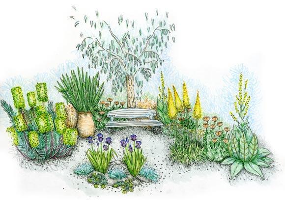 Le jardin pur le magazine gamm vert for Jardin moderne epure