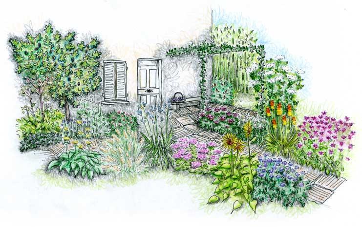 le jardin des 5 sens gamm vert. Black Bedroom Furniture Sets. Home Design Ideas