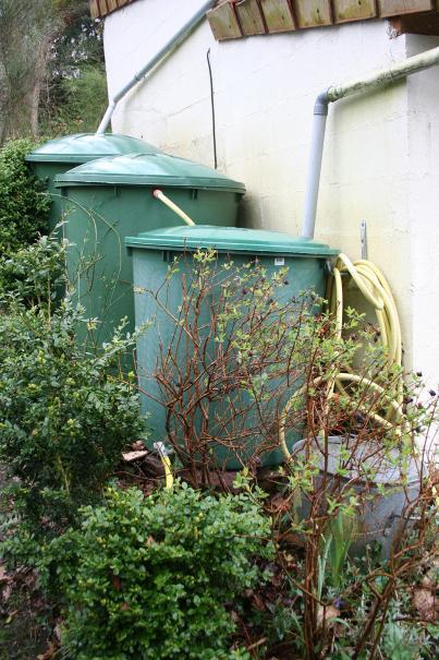 Gestion de l 39 eau tout sur l 39 arrosage le magazine gamm vert - Installation recuperateur d eau de pluie ...