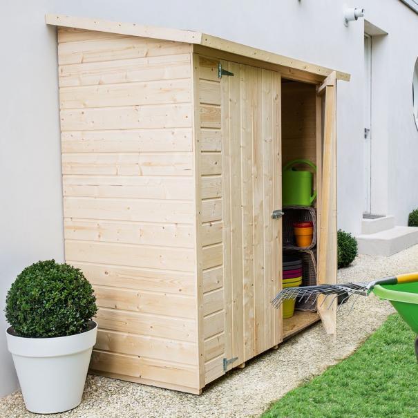Choisir son abri de jardin adossé   Gamm vert