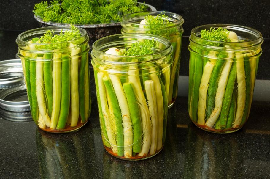 Comment congeler vos haricots verts gamm vert - Comment congeler les haricots verts du jardin ...
