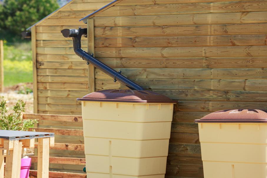collecteur eau de pluie gamm vert