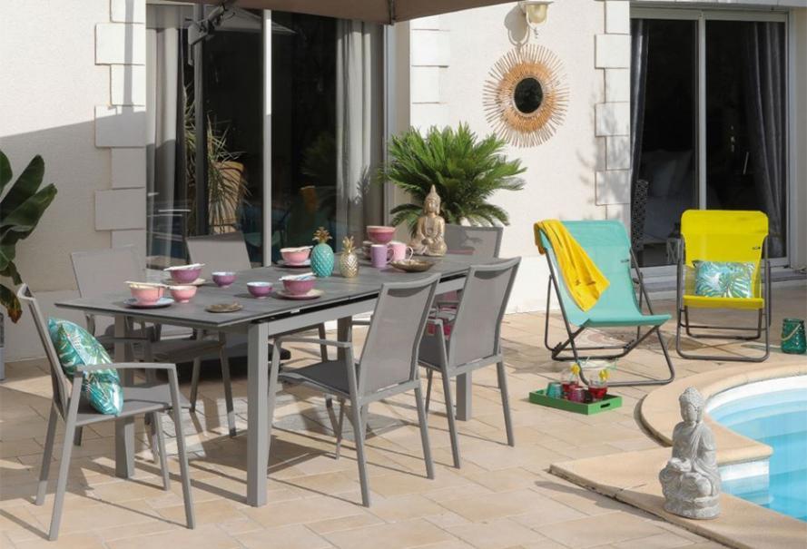 Choisir son salon de jardin en textilène | Gamm vert