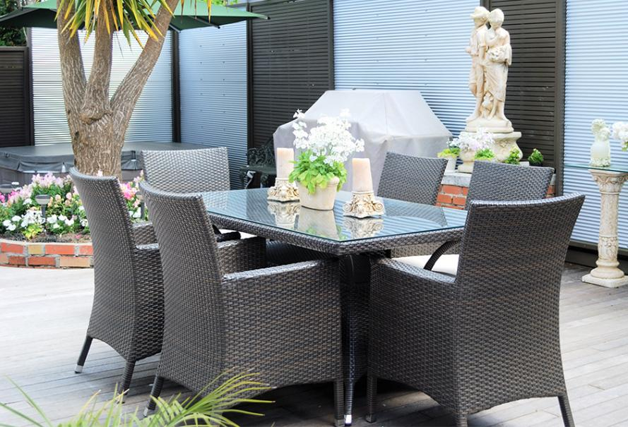 Choisir son salon de jardin en résine tressée | Gamm vert