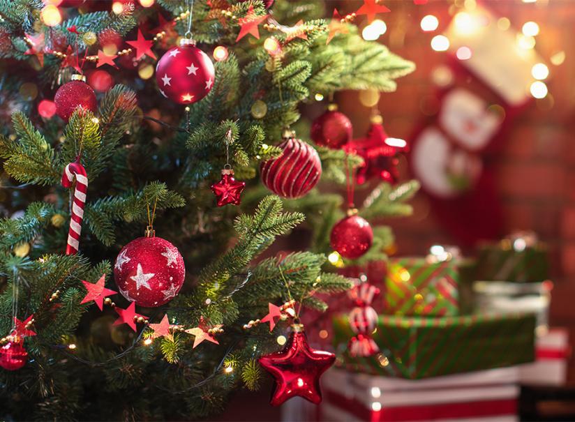 3 Pack 200 cm blanc épais PVC Guirlandes Arbre de Noël Décoration