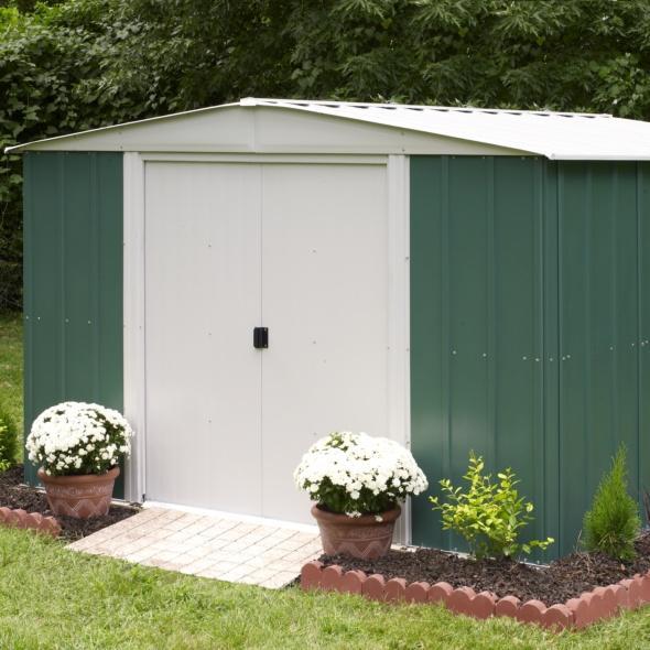 comment monter son abri de jardin en m tal le magazine gamm vert. Black Bedroom Furniture Sets. Home Design Ideas