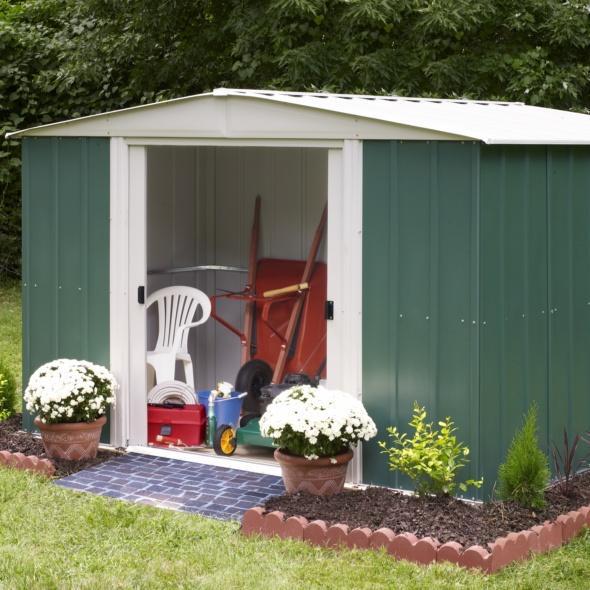 Choisir son abri de jardin en métal | Gamm vert