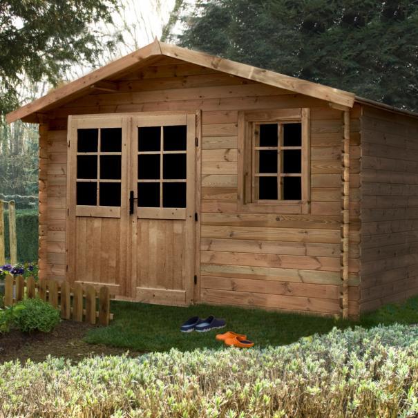 Pourquoi choisir un abri de jardin en bois trait le magazine gamm vert - Bois de jardin traite ...