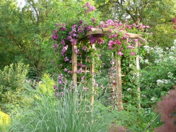 Pergola En Bois L Installer Dans Son Jardin Ou Sur Sa