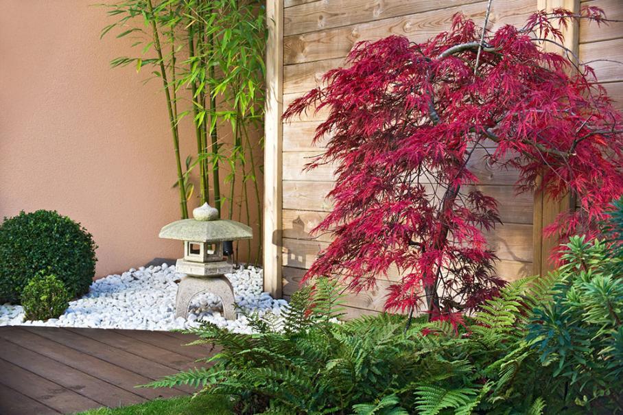 am nagez votre terrasse dans le style japonais le. Black Bedroom Furniture Sets. Home Design Ideas