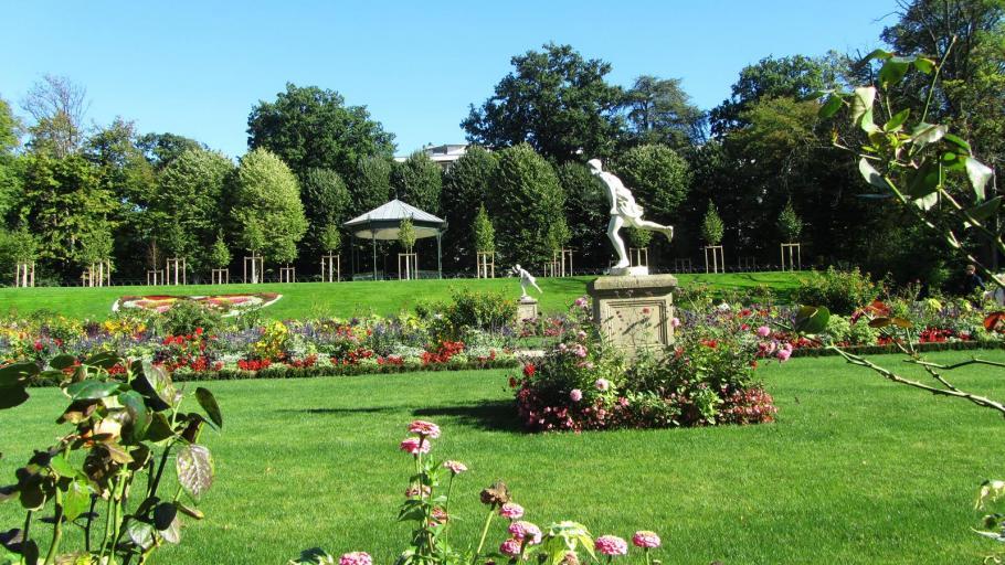 Jardin des plantes du mans gamm vert for Jardin botanique paris