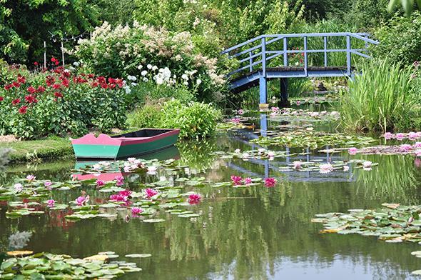 Le jardin du peintre andr van beek gamm vert - Table de jardin plastique vert saint paul ...