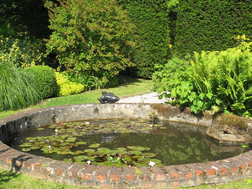 Entretien de son bassin de jardin gamm vert - Bassin de jardin nettoyage ...