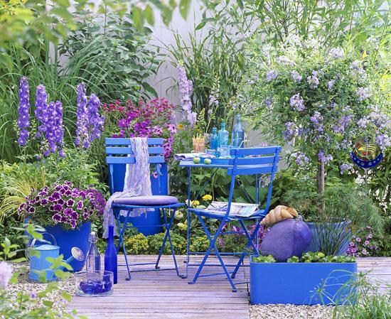 Un jardin bleu | Gamm vert