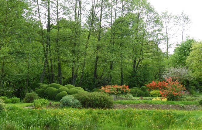 Jardins val de flore promenades for Jardin val de saone