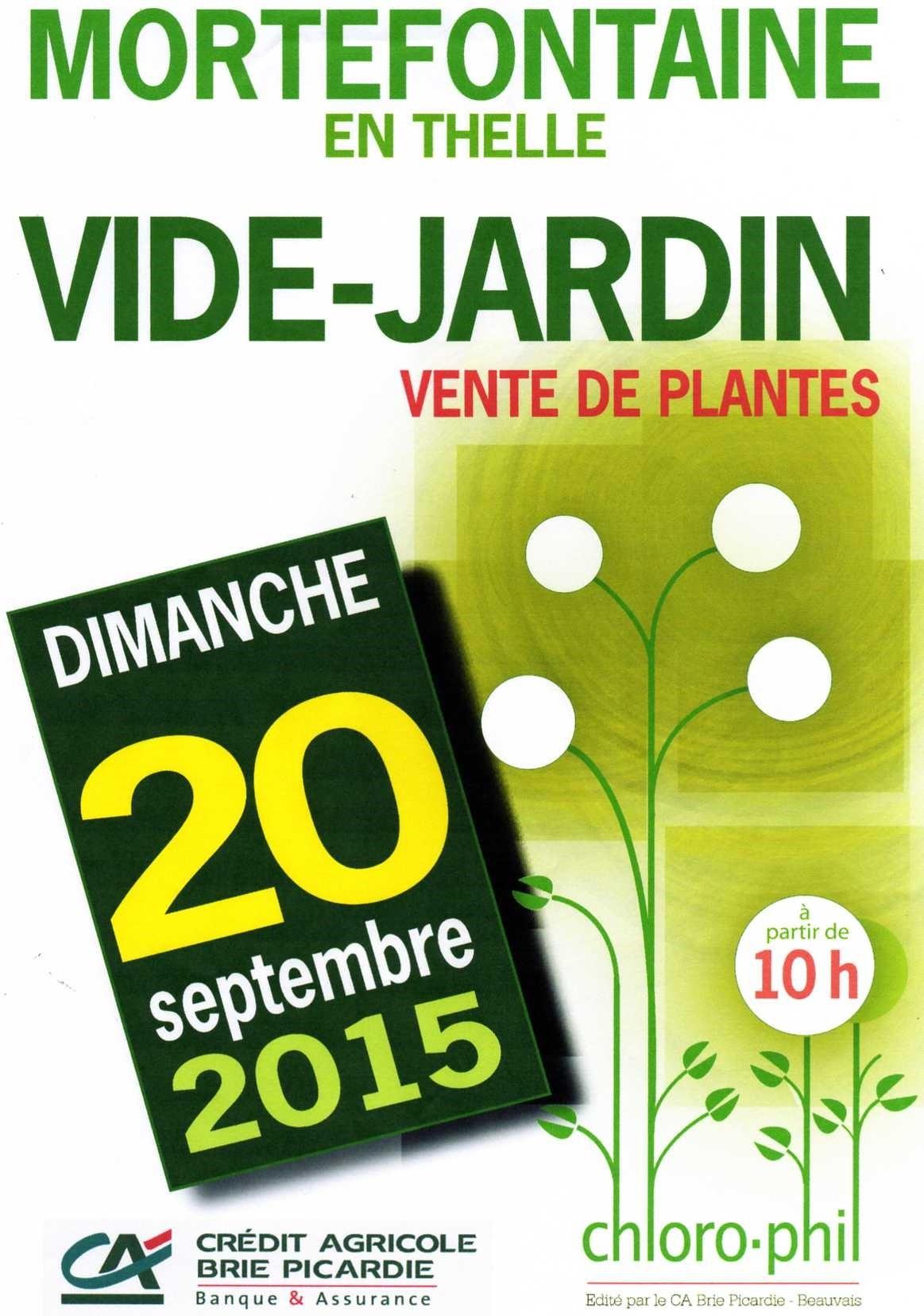 Vide jardin agenda for Vide jardin tremeoc 2015