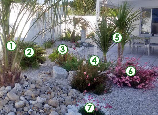 un jardin de bord de mer prot g des vents sc nes de jardins. Black Bedroom Furniture Sets. Home Design Ideas